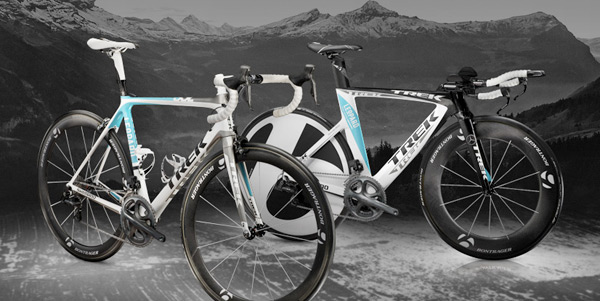 The Madone and Speed Concept of LEOPARD TREK